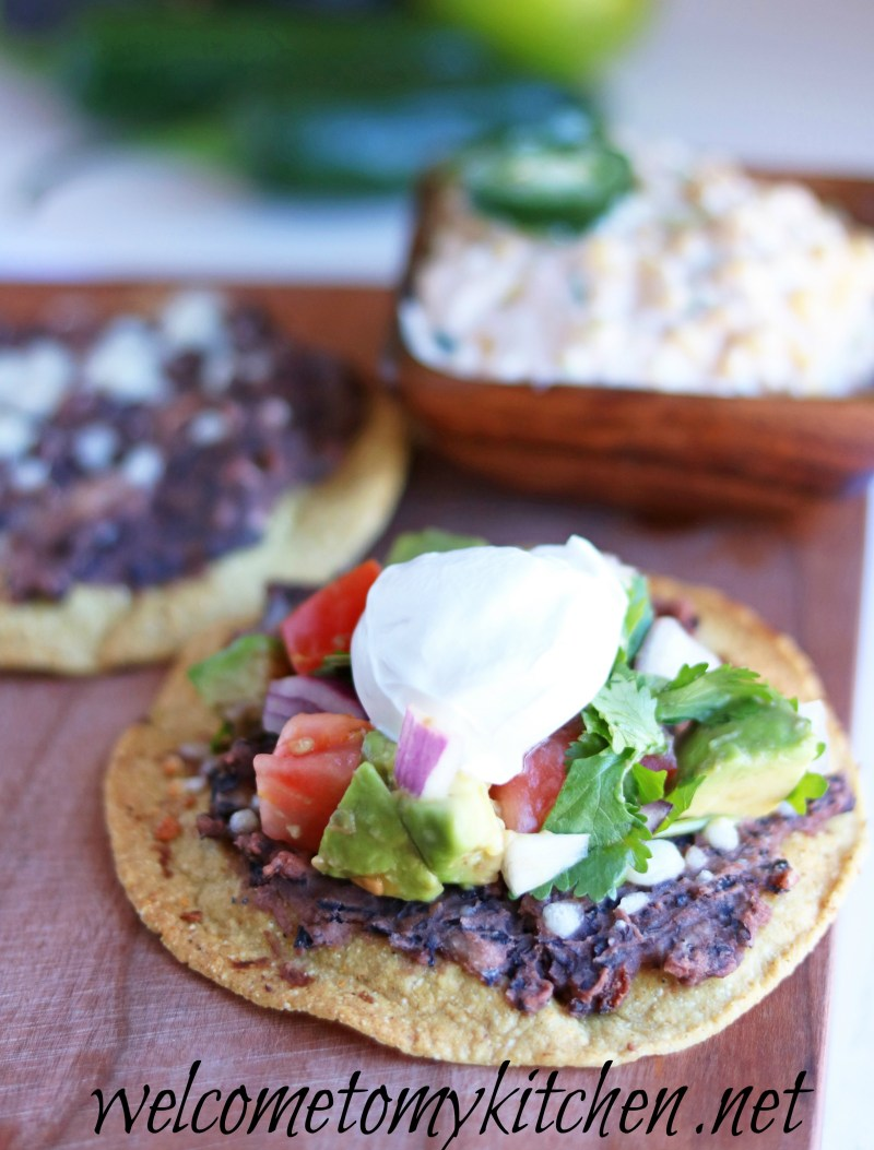 Meatless Monday Tostatas