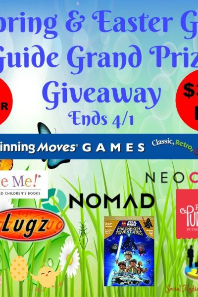 Spring & Easter Gift Guide Grand Prize Giveaway @SMGurusNetwork
