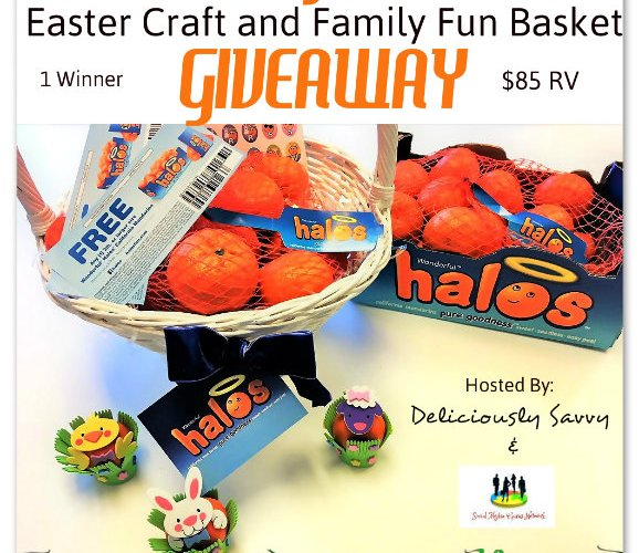 Wonderful Halos Easter Craft and Family Fun Basket Giveaway @SMGurusNetwork