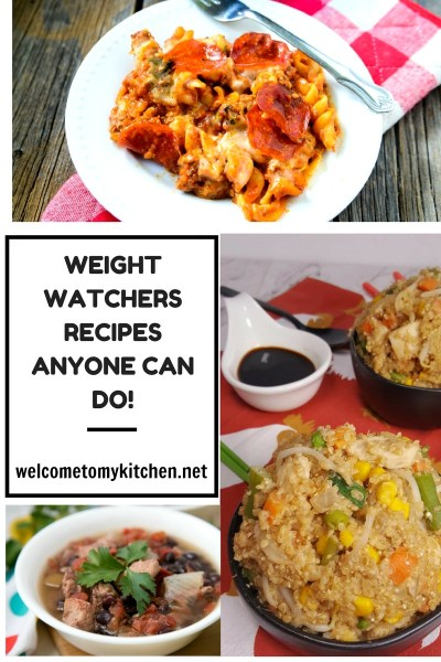 Weight Watchers Recipes Anyone Can Do #weight watchers #healthy eating