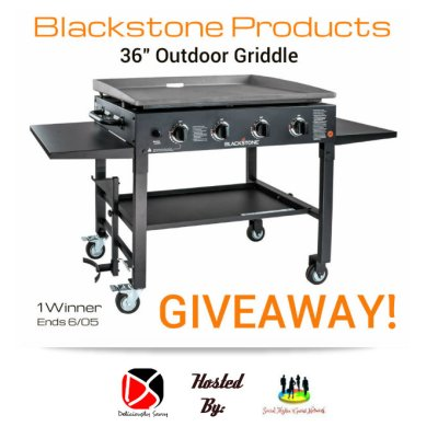 Blackstone Products 36″ Outdoor Griddle Giveaway @SMGurusNetwork