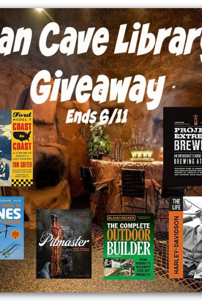 Man Cave Library Giveaway @SMGurusNetwork
