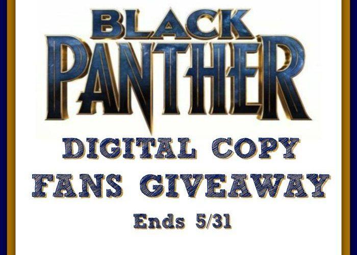 Black Panther Fans Giveaway @SMGurusNetwork