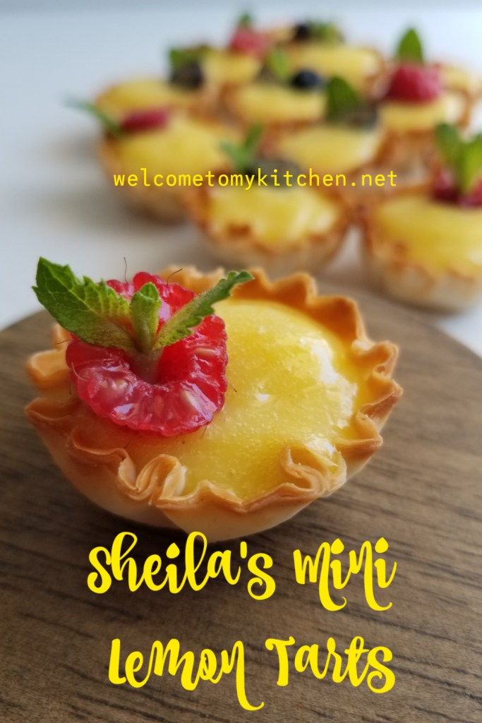 Sheila's Mini Lemon Tarts