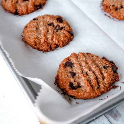 Low Carb Keto Chocolate Chip Pecan Cookies