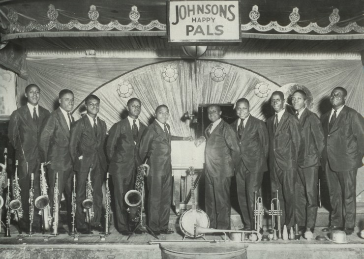1929 - Johnsons Happy Pals. Source: Richmond Jazz Society