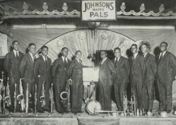 1929 - Johnsons Happy Pals. Source: Richmond Jazz Society