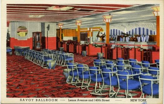 Savoy Ballroom Postcard c.1941