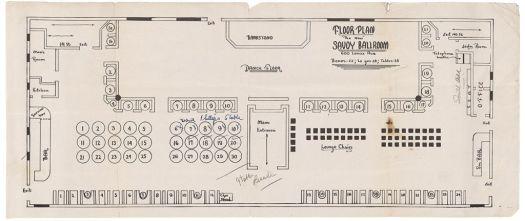 Savoy Ballroom Floorplan