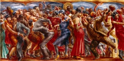 Savoy Ballroom by Reginald Marsh (1931)