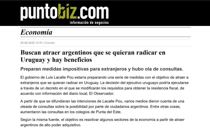 nota de puntobiz.com.ar