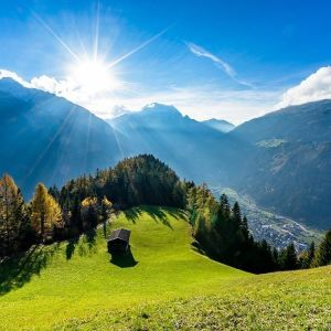 Mayrhofen Penken summer