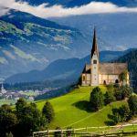 Fügen Zillertal- summer kapelle