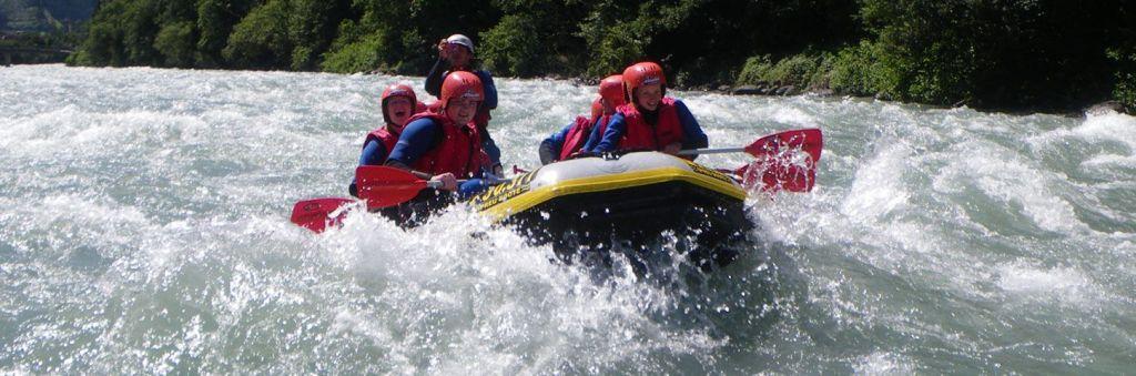 rafting in Zillertal