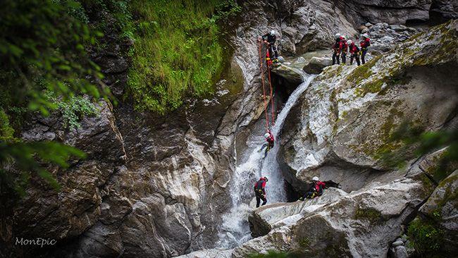Canyoning aktivitäten Zillertal