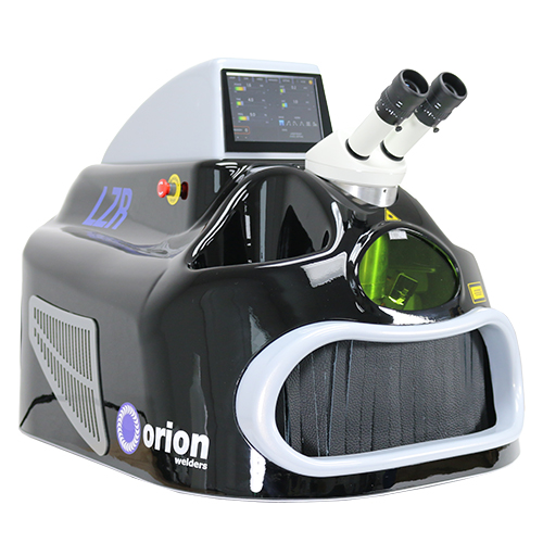Precision laser welding guns