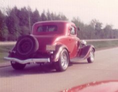 Yvon Landry's '34 with a Corvette IRS (1974/75)