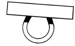 illustration of magnet clinging to metal