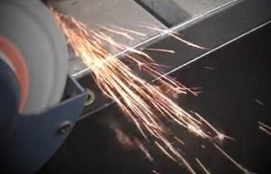 Metal Identification Spark Test