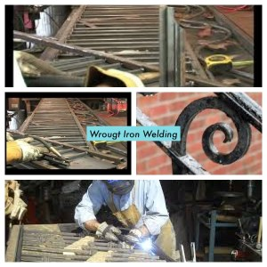 6 examples of wrought iron