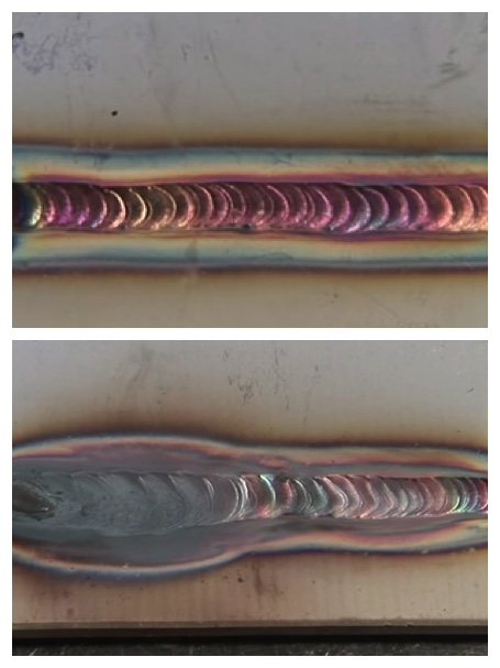 Good and Bad TIG Stainless Steel Welds