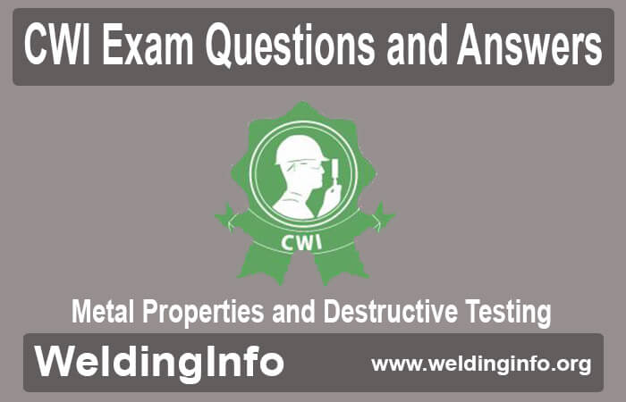 metal properties and destructive testing