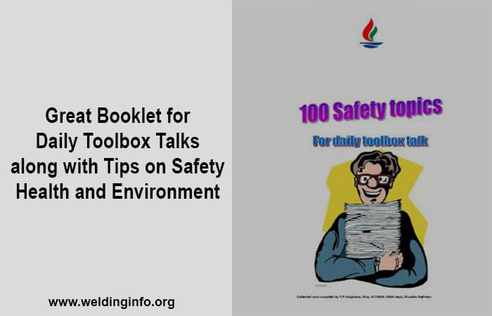 100 safety topics