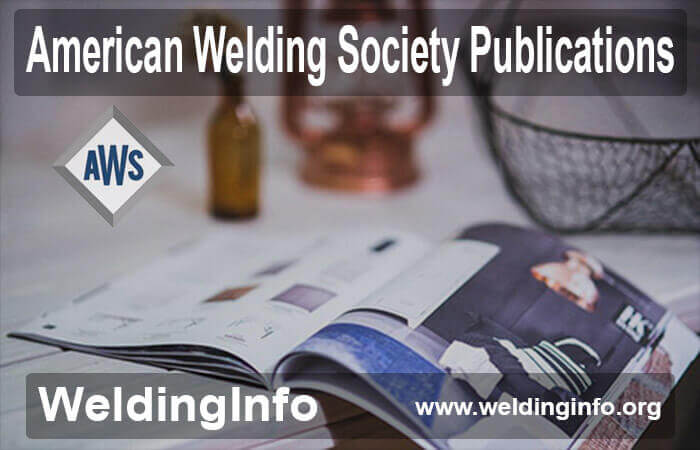 american welding society publications