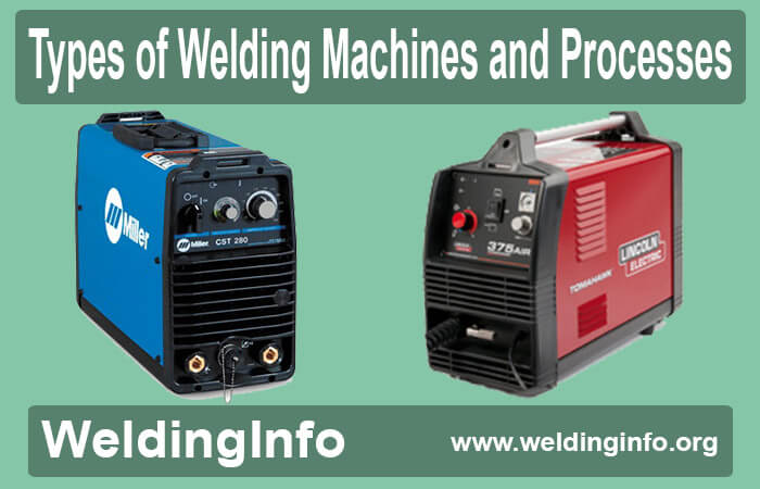 types of welding machines