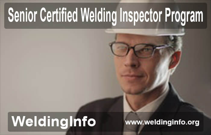 senior certified welding inspector