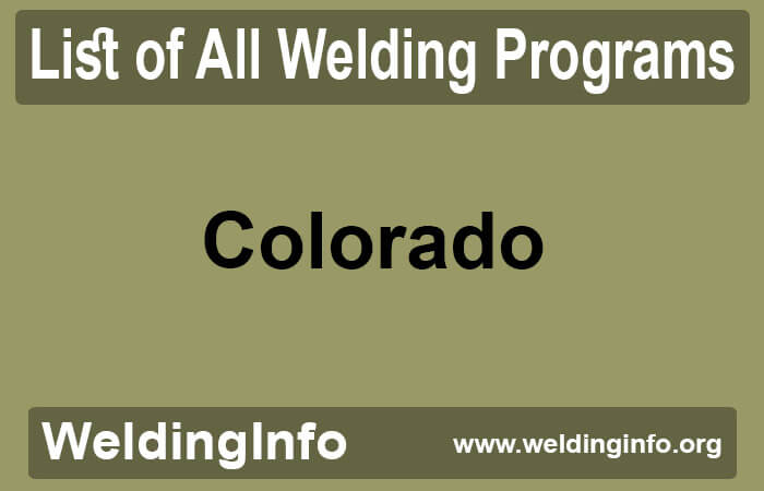 welding programs in colorado