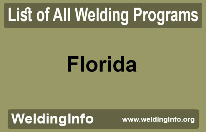welding programs in florida