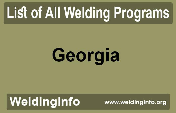 welding programs in georgia