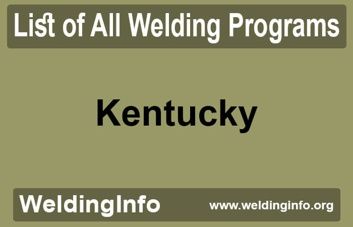 welding programs in kentucky