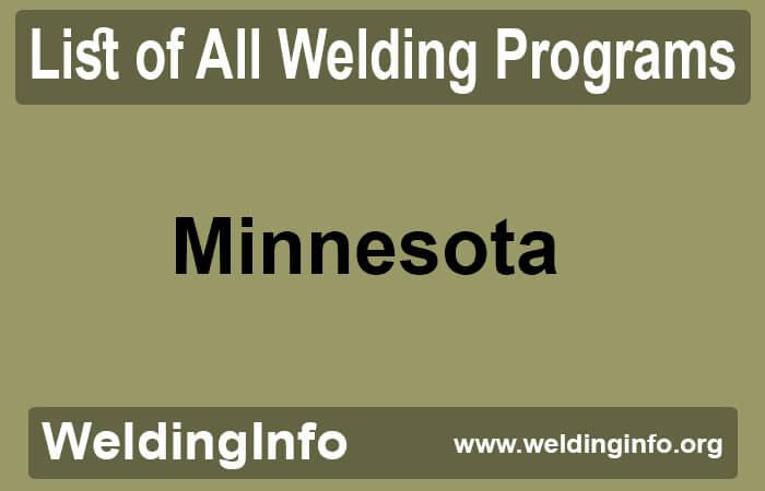 welding programs in minnesota