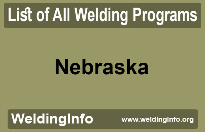 welding programs in nebraska