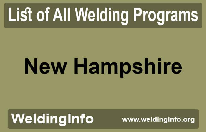 welding programs in new hampshire