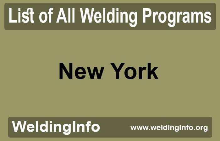 welding programs in new york