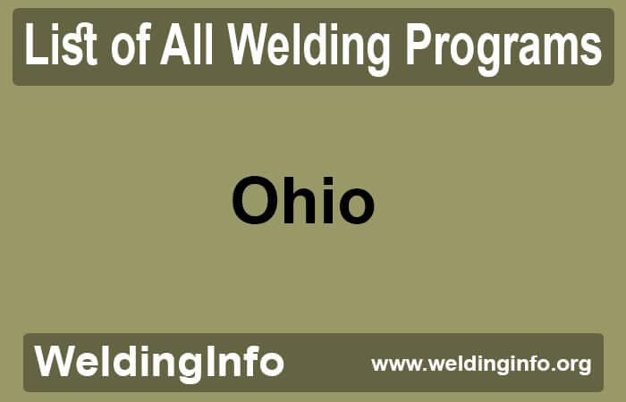 welding programs in ohio