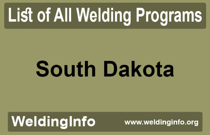 welding programs in south dakota