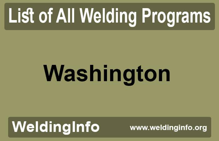 welding programs in washington