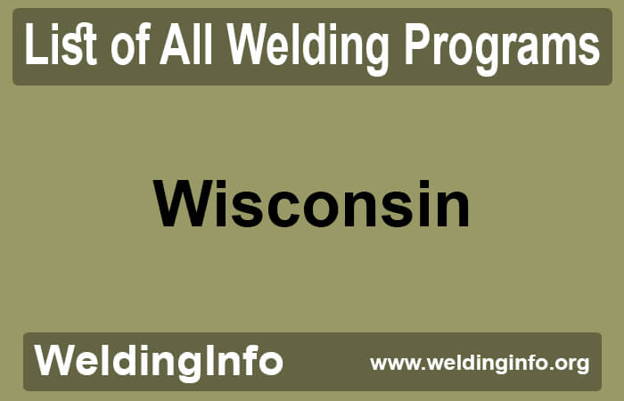 welding programs in wisconsin