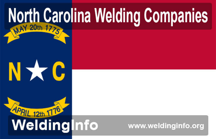 welding companies in north carolina