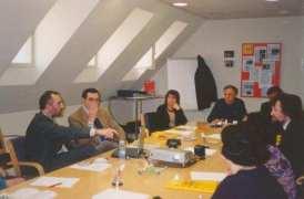 L'incontro con Ignasi Albors, Direttore Pianificazione di Cat365 che gestisce il portale dell'Amministrazione Aperta di Catalogna