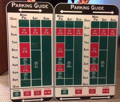 new parking signs los angeles - 洛杉矶市将启用新型的停车指示牌