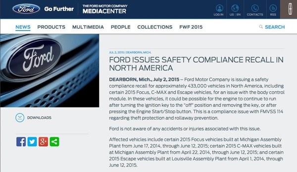 Ford advisory