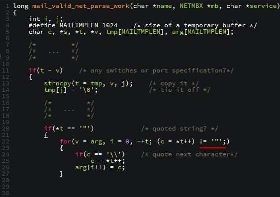 vulnerabilidad bucle IMAP