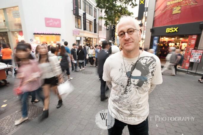 John Glionna - Seoul Portrait Photography