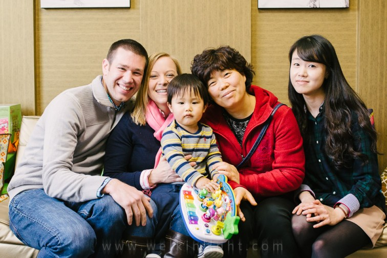 Korea Adoption Photography