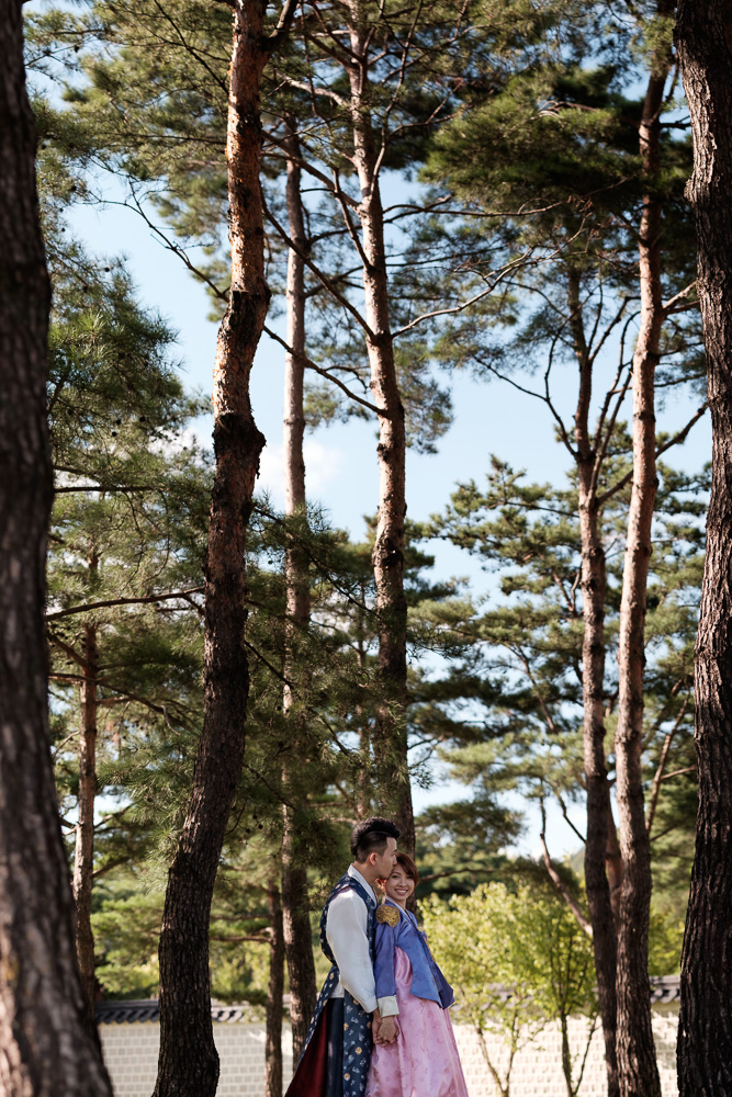 Seoul Pre-Wedding Photographer - Zack and Ting En